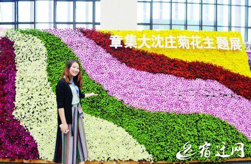 第五届中国·沭阳花木节昨盛大开幕